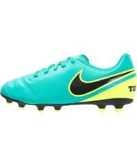 Nike Performance TIEMPO RIO III FG Chaussures de foot à crampons clear jade/black/volt