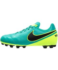 Nike Performance TIEMPO LEGEND VI AG Chaussures de foot à crampons clear jade/black/volt