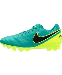 Nike Performance TIEMPO LEGACY II AGR Chaussures de foot à crampons clear jade/black/volt