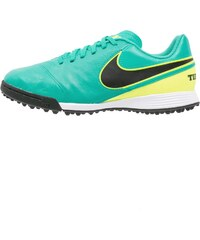Nike Performance TIEMPO LEGEND VI TF Chaussures de foot multicrampons clear jade/black/volt