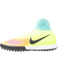 Nike Performance MAGISTAX PROXIMO II TF Chaussures de foot multicrampons volt/black/hyper turquoise/total orange/pink blast