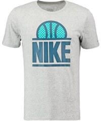 Nike Performance LOCKUP Tshirt imprimé dark grey heather