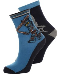 LEGO Wear ACE 2 PACK Chaussettes dark navy
