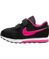 Nike Sportswear MD RUNNER 2 Baskets basses black/vivid pink/white