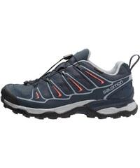 Salomon X ULTRA 2 GTX Chaussures de randonnée grey denim/deep blue/melon bloom