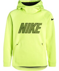 Nike Performance THERMA SPHERE Sweat à capuche volt/black