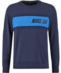 Nike SB EVERETT Sweatshirt obsidian/light photo blue
