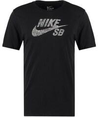 Nike SB Tshirt imprimé black/white