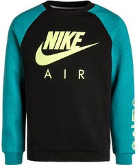 Nike Performance AIR Sweatshirt black/rio teal heather/volt