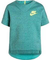 Nike Performance TECH Tshirt imprimé washed teal/heather/volt