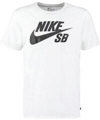 Nike SB Tshirt imprimé white/black