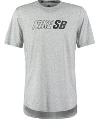 Nike SB SKYLINE Tshirt imprimé dark grey heather/black