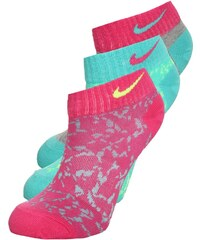 Nike Performance 3 PACK Chaussettes de sport green/pink/grey