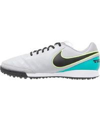 Nike Performance TIEMPO GENIO II TF Chaussures de foot multicrampons wolf grey/black/clear jade/metallic silver/ghost green