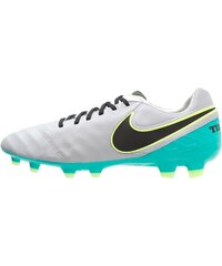 Nike Performance TIEMPO LEGACY II FG Chaussures de foot à crampons wolf grey/black/clear jade/metallic silver/ghost green