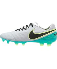 Nike Performance TIEMPO LEGEND VI FG Chaussures de foot à crampons wolf grey/black/clear jade/hyper turquoise/metallic silver/ghost green