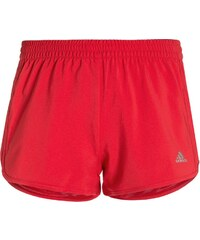 adidas Performance MARATHON Short de sport ray red /matte silver