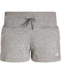 adidas Performance ATHLETICS Short de sport medium grey heather/white