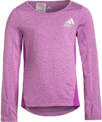 adidas Performance Tshirt à manches longues shock purple/reflective silver