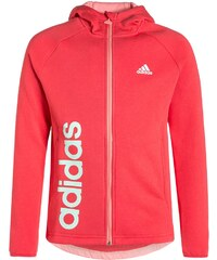 adidas Performance ESSENTIALS Sweat zippé joy/ray pink