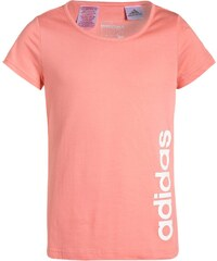 adidas Performance ESSENTIALS Tshirt imprimé ray pink/white