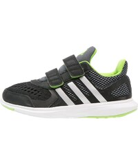 adidas Performance HYPERFAST 2.0 Chaussures de running neutres core black/metallic silver/semi solar green