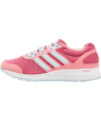 adidas Performance MANA BOUNCE Chaussures de running neutres ray pink/ice blue/craft pink