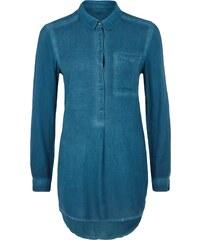 Q/S Designed By Herringbone Bluse im Garment Dye