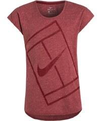 Nike Performance BASELINE Tshirt de sport team red/hyper pink/team red/white