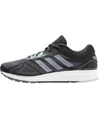 adidas Performance MANA BOUNCE Chaussures de running neutres dark grey/white/silver metallic