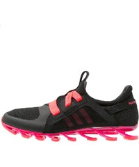 adidas Performance SPRINGBLADE NANAYA Chaussures de running neutres core black/shock pink/shock red