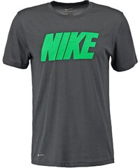 Nike Performance LEGEND Tshirt imprimé anthracite/green spark
