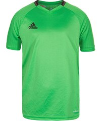 adidas Performance CONDIVO 16 Tshirt de sport semi solar lime/night brown