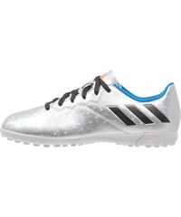 adidas Performance 16.4 TF Chaussures de foot multicrampons silver metallic/core black/shock blue