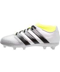 adidas Performance ACE 16.3 PRIMEMESH FG/AG Chaussures de foot à crampons silver metallic/core black/solar yellow