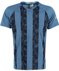 adidas Performance Tshirt de sport tech steel/ice blue