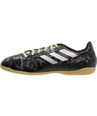 adidas Performance CONQUISTO II IN Chaussures de foot en salle core black/silver metallic/solar red