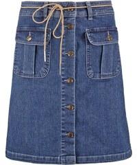 ONLY ONLFARRAH Jupe en jean medium blue denim