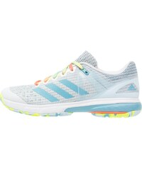 adidas Performance COURT STABIL 13 Chaussures de handball white/vapour blue/solar yellow