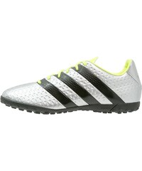 adidas Performance ACE 16.4 TF Chaussures de foot multicrampons silver metallic/core black/solar yellow