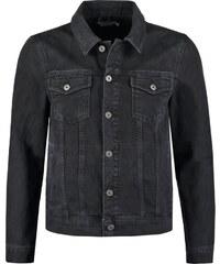 Topman Veste en jean black