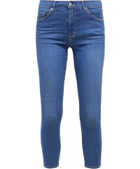 Topshop LEIGH Jeans Skinny blue denim