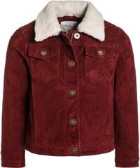 Pepe Jeans JOLIE Veste en cuir burgundy