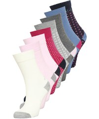s.Oliver 8 PACK Chaussettes lollipop/light grey melange