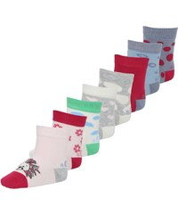 s.Oliver 8 PACK Chaussettes engel offwhite/tiere lollipop