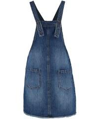 Vero Moda VMFAI Robe en jean dark blue denim