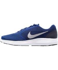 Nike Performance REVOLUTION 3 Chaussures de running neutres deep royal blue/metallic cool grey/black/white