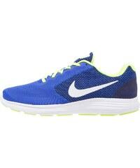 Nike Performance REVOLUTION 3 Chaussures de running neutres racer blue/white/volt/black/white