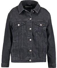 Topshop WESTER Veste en jean black
