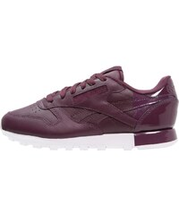 Reebok Classic CLASSIC Baskets basses maroon/white/coral